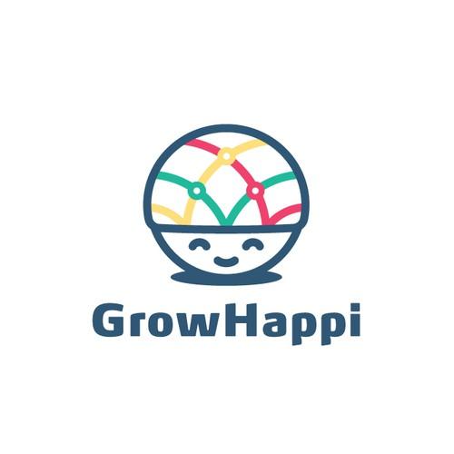 Logo for Grow Happi