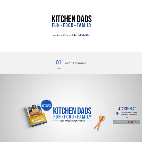 Kitchen Dad's Youtube Design