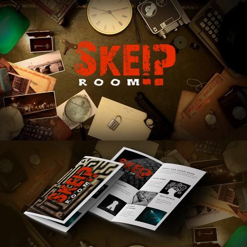 """Logo for """"Skeip Room"""""""