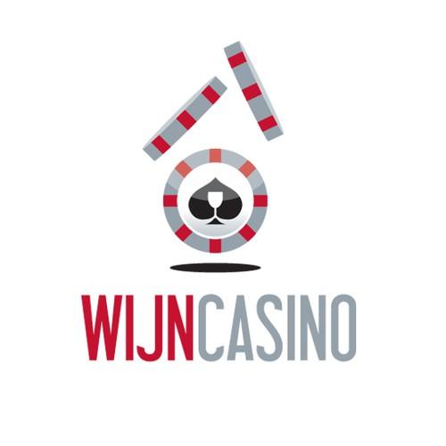 Maak een logo voor wijncasino
