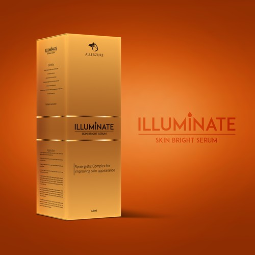 Illuminate Box Label Design