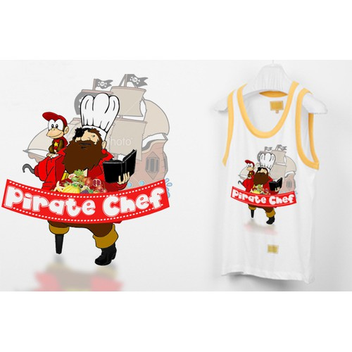 Pirate chef shirt