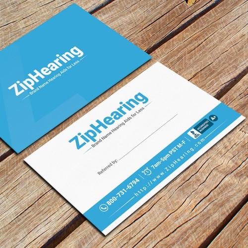 ZipHearing business card !