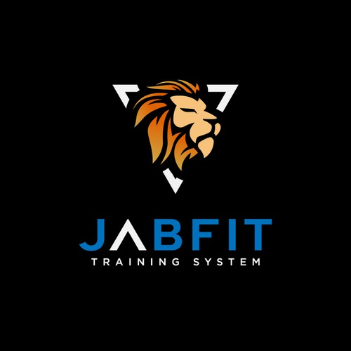 Logo concept for physical fitness who call jabvit training centre.