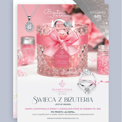 Jewelry Candle flyer