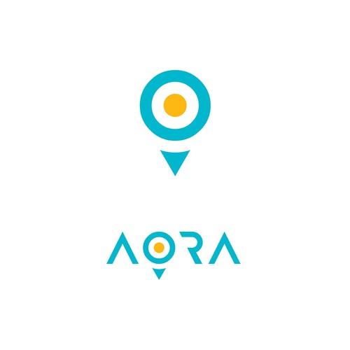 AORA Logo Concept