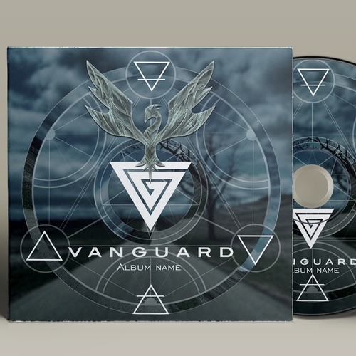 Design album cover for Vanguard