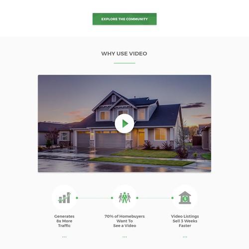 Website design for PocketBirdy