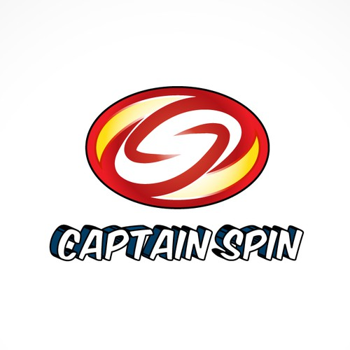 A SUPERHERO Logo for Captain Spin