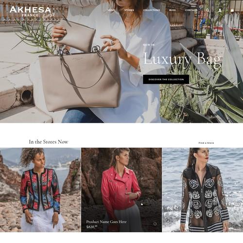 Akhesa Homepage