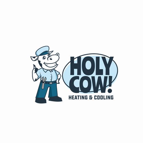 HolyCow! concept design logo