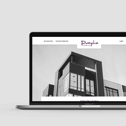 Home & Property Rent Services Website Design