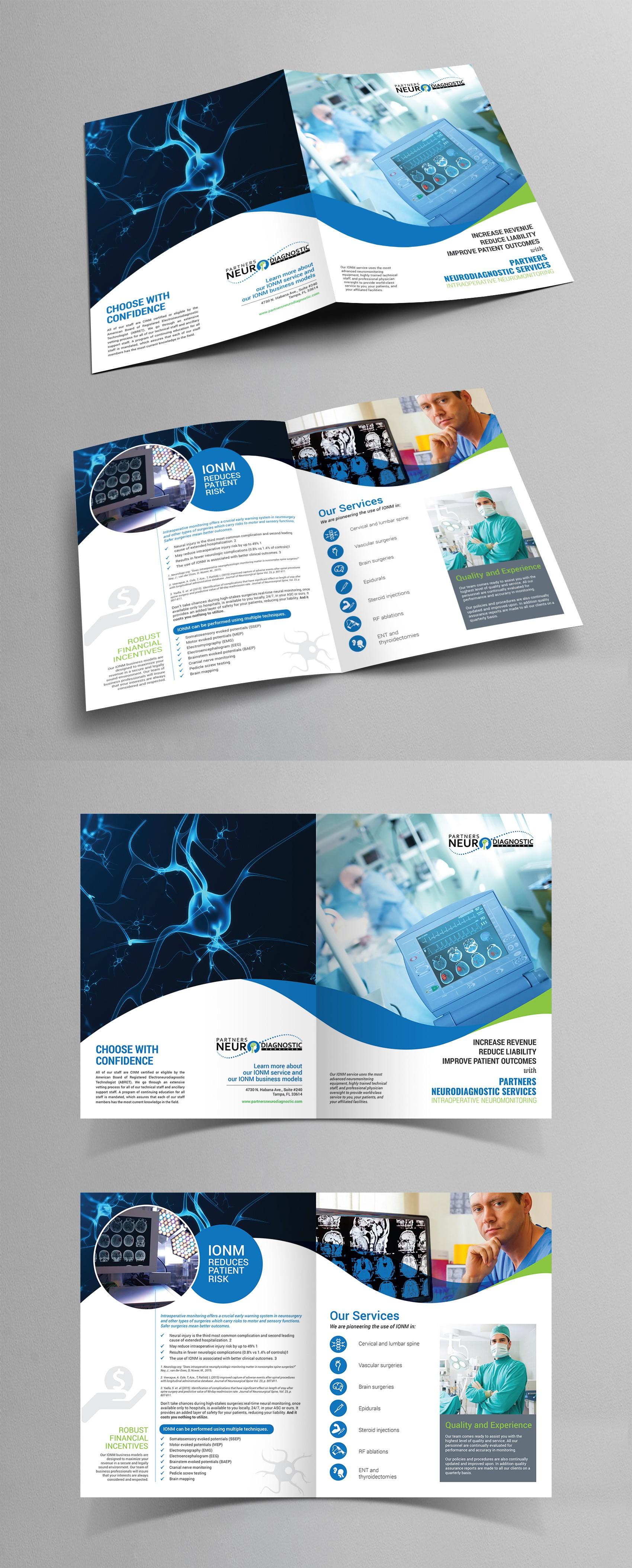 IONM Bi-fold Brochure 8.125 x 17.625