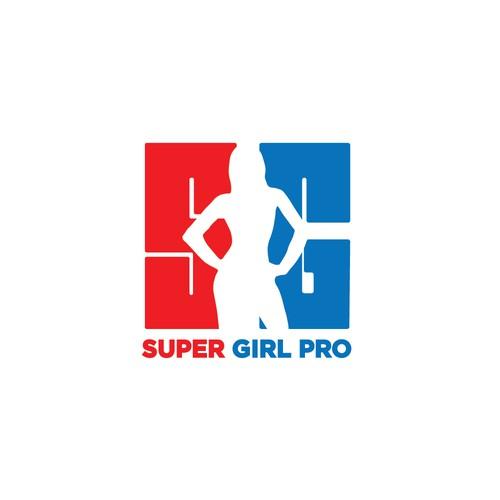 Super Girl Pro Logo