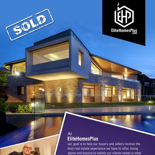 Advertisement Design for EliteHomesPlus