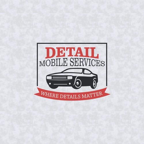 Logo concept for Detail Mobile Services