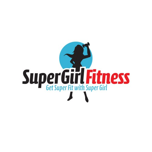 Help Super Girl Fitness with a new logo