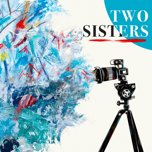 """An Illustration for an Art and Photography Exhibit called """"Two Sisters"""""""