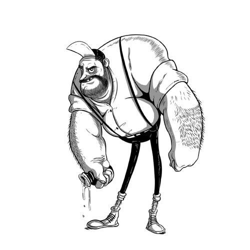 Fat Richard character
