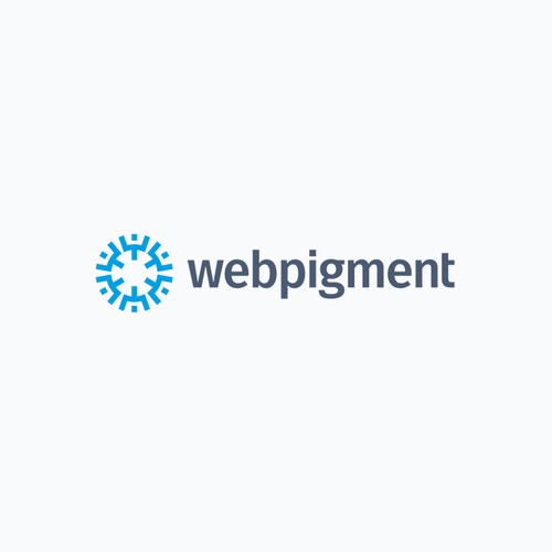 Explosive logo for a Wordpress development studio