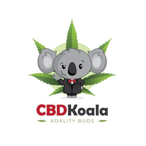 logo mascotte for CBDKoala
