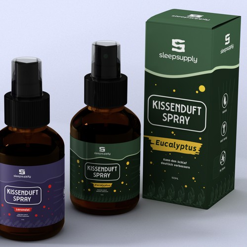Creating an EXTRAORDINARY eye catching and refreshing Pillow Spray Design