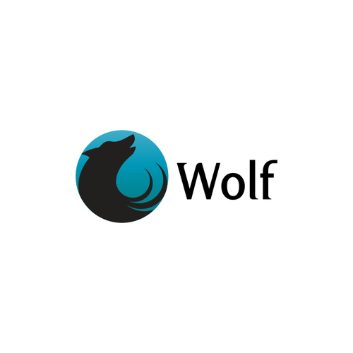 Create a FLAT logo for WOLF - The Next HUGE Social App - Silicon Valley Start-up