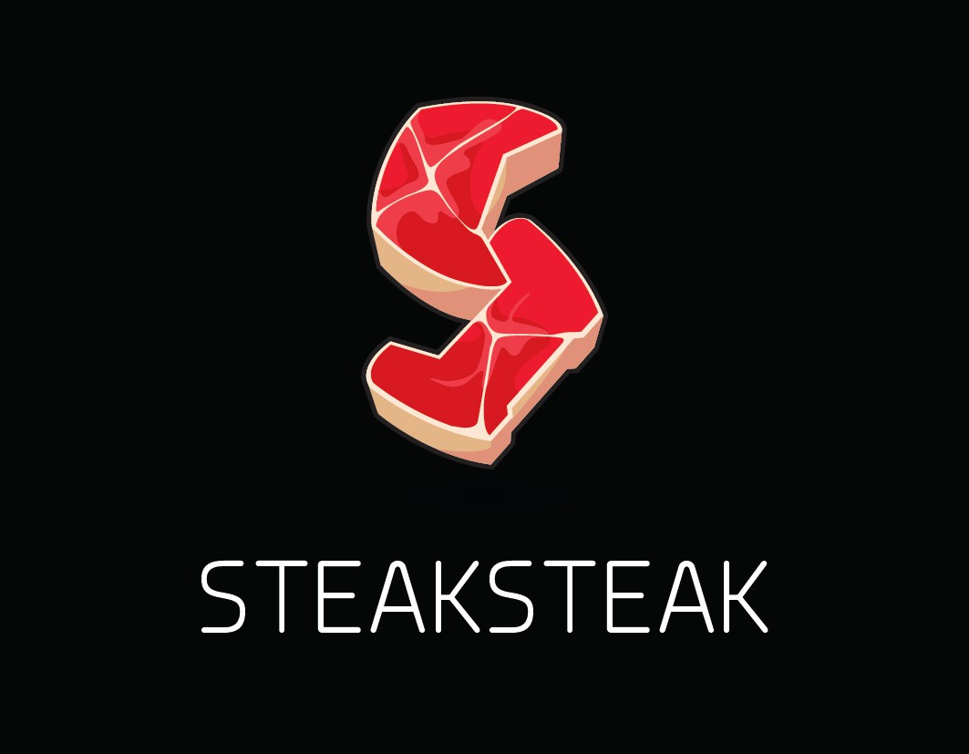 Throw a logo on the grill for STEAKSTEAK!