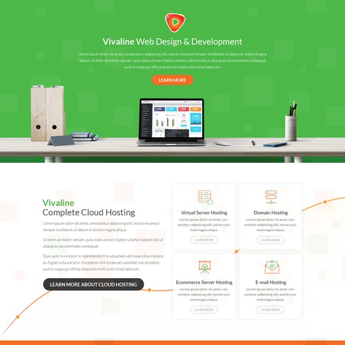 Web Design for Vivaline