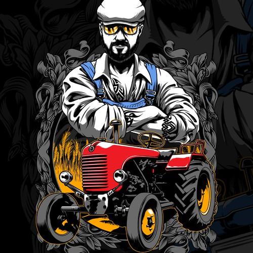 cool farmer