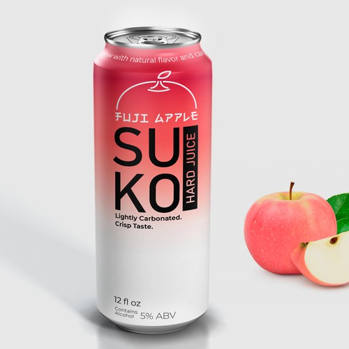 Design a Sleek Can for an Innovative/Asian influenced Hard Juice Company