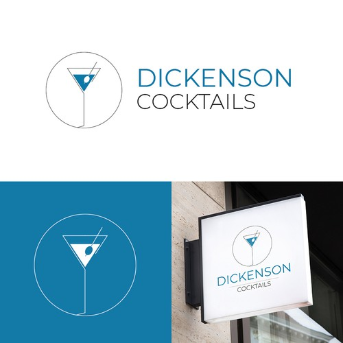 Logo for a Cocktail Bar