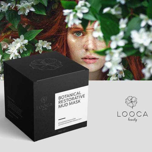 Face mask package design