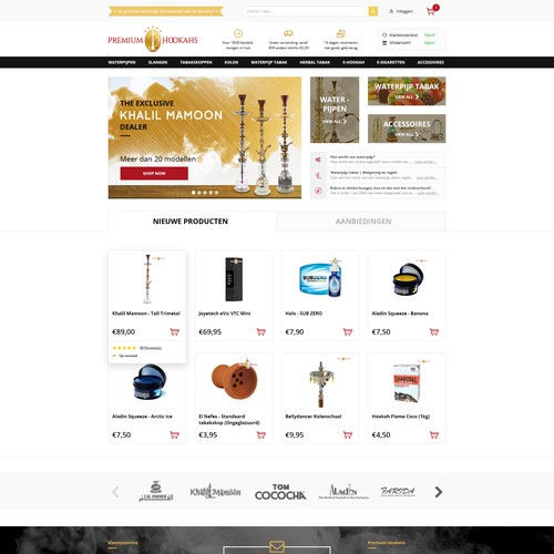 Shop for PremiumHookahs
