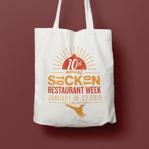 Logo concept for Restaurant Week