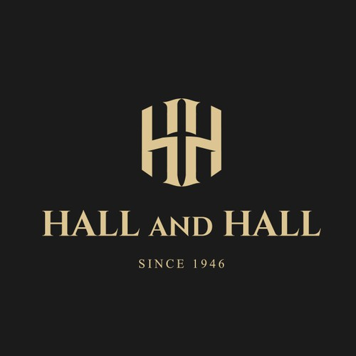 Hall and Hall Logo design