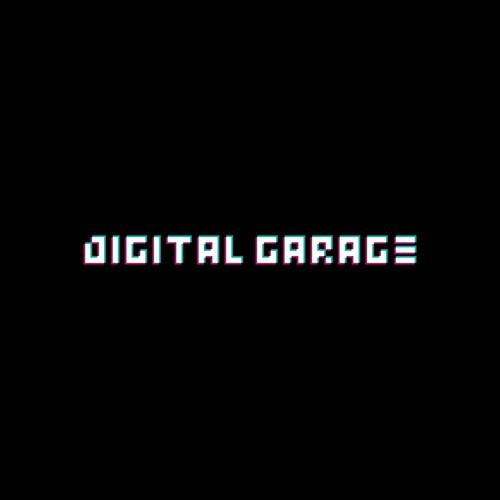 Glitch logo for Digital Garage