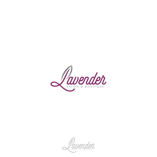 simple logo Lavender