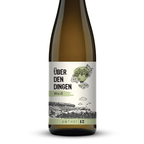 Wine label for Amthof12