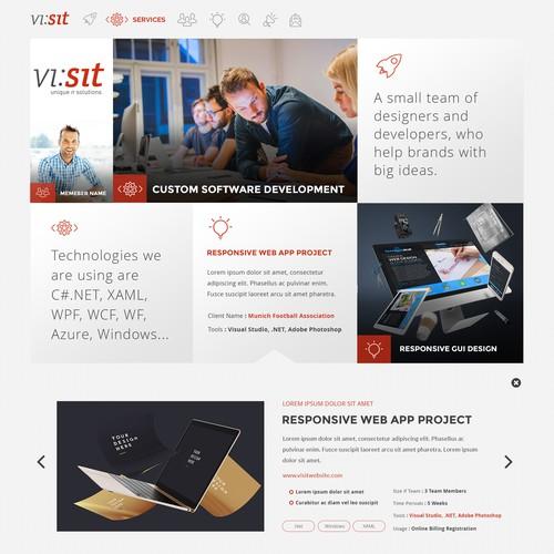 Vetter Solutions Website Design