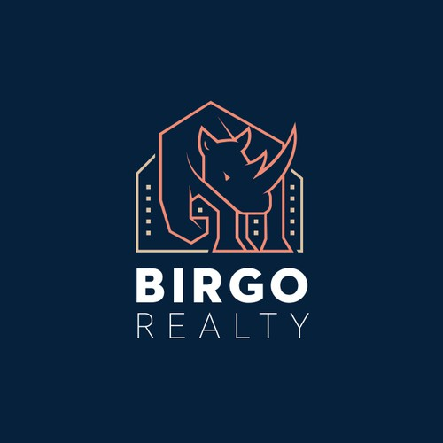 Logo for a real estate firm