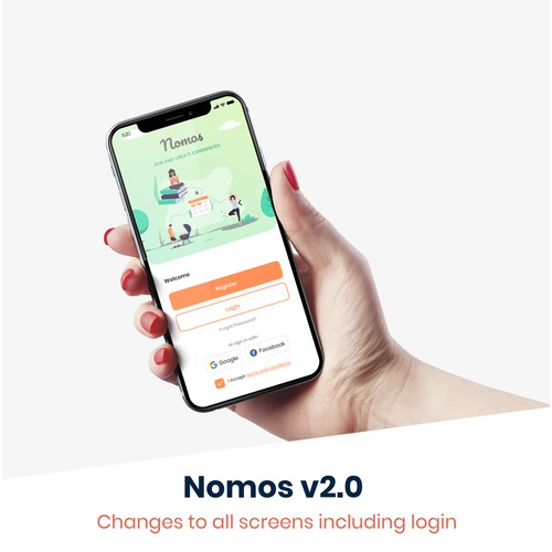 Nomos - experiences and communities