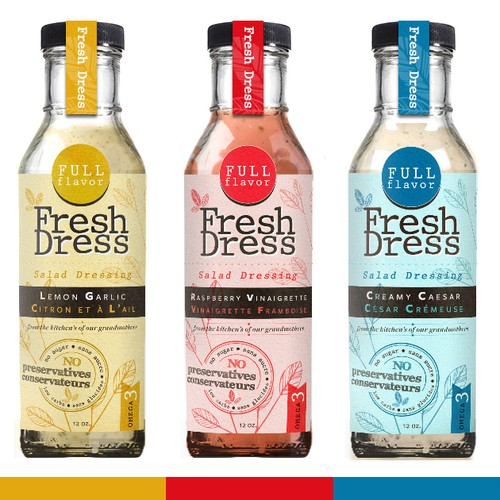 The Freshest Dressing on the Market Needs a New Look!