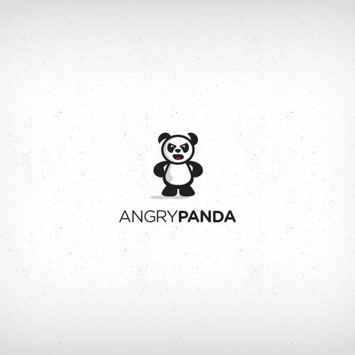 """Panda"" - character design for online store"