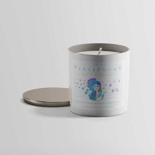 Label Design for candles
