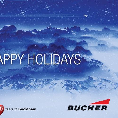 postcard, flyer or print für Bucher