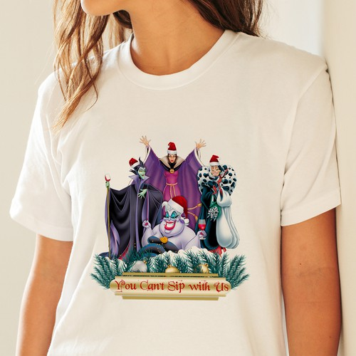 Disney Witches Christmas T-Shirt