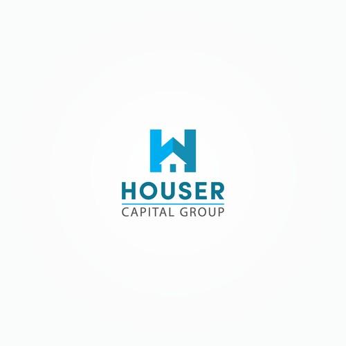 Houser Capital Group logo concept