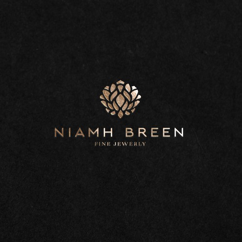Logo for jewelry with high quality gemstones