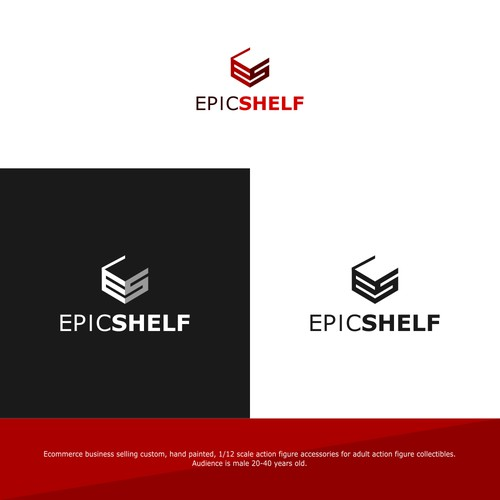 Logo Concept For Action Figure Company